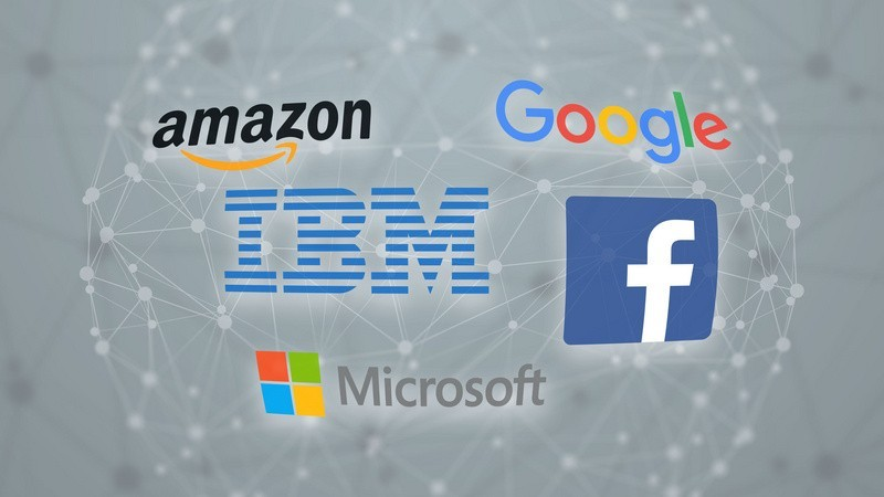 Google、微軟等五大巨頭組建「AI聯盟」,以往爭相廝殺的他們為何在一起了?