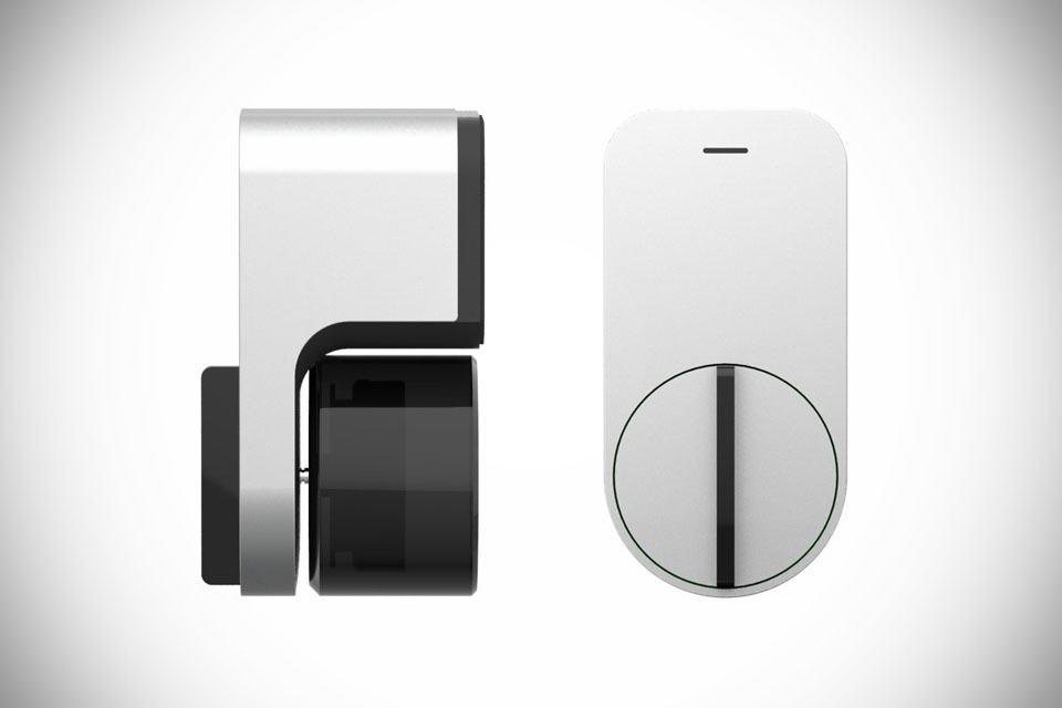 東洋新品!不用鑰匙!讓手機幫你開門的 Qrio 智慧鎖