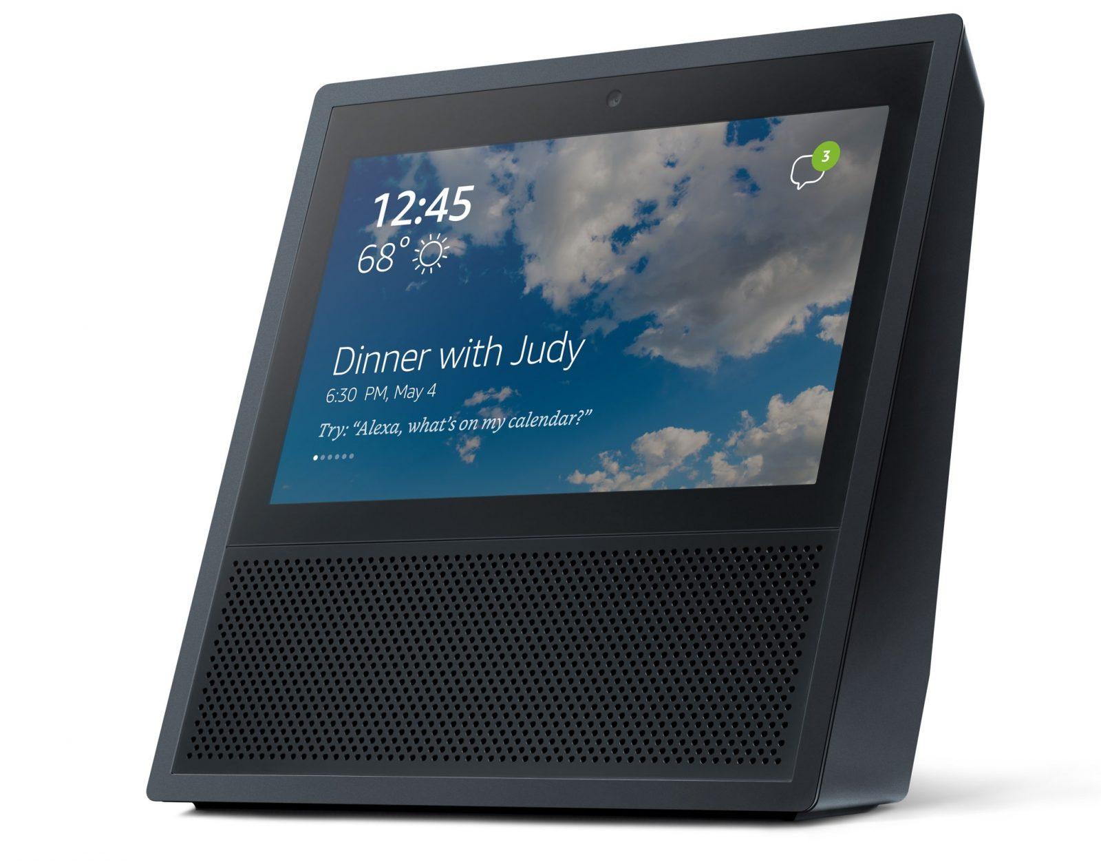 智慧音響再進化,搭載觸控螢幕的 Amazon Echo Show 正式登場
