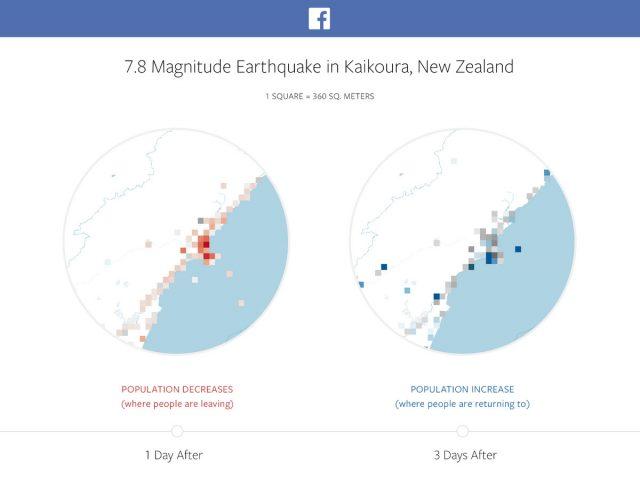 Facebook 發表方便救援的「災難地圖」,這是一項讓災民安心的創新