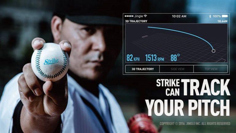 台灣做出世界首顆「智慧棒球」!3000 元台幣球速軌跡全分析