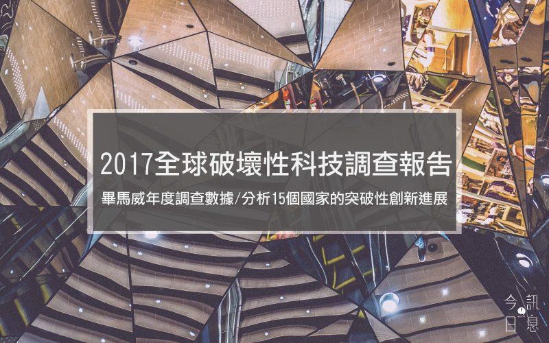 畢馬威年度調查數據/分析15個國家的突破性創新進展