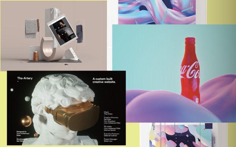 2018設計趨勢帶來的20種視覺震撼