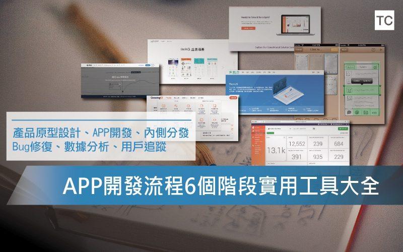 【APP開發】UI/UX設計初學最齊全的六大實用開發工具