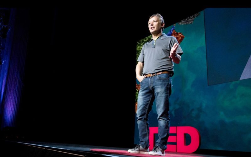 Chris Anderson at TEDSummit2016, June 26 - 30, 2016, Banff, Canada. Photo: Bret Hartman / TED
