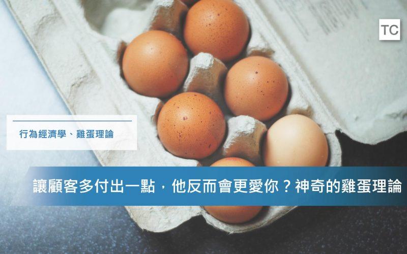 【行為經濟學】讓顧客付出越多他反而越愛?告訴你神奇的雞蛋理論